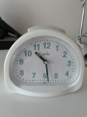 Retro Vintage Acctim Alarm Clock Battery Powered Not Supplied • 2.20£
