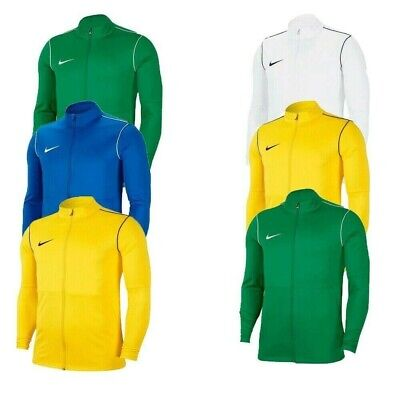 Nike Boys Football Tracksuit Jacket Full Zip Track Top Kids Park 20 Jumper Size • 17.95£