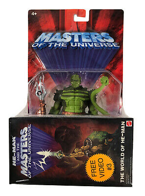 $34.95 • Buy Masters Of The Universe Whiplash 200X Action Figure Free Video VHS 3 MOTU MOC