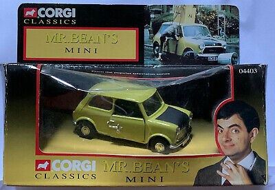 $40 • Buy NIP Corgi Classics Mr. Bean's Leyland Mini 1000 Mark 4 Die-Cast Vehicle