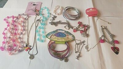 Collection Of Childrens Jewellery Necklaces, Bracelets Job Lot • 5£