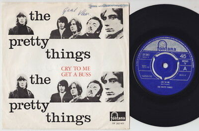 £19.99 • Buy The PRETTY THINGS * Cry To Me * 1965 BEAT FREAKBEAT MOD * Dutch 45 * Listen!
