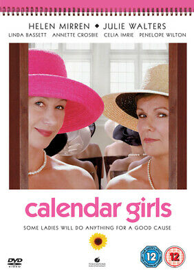 Calendar Girls DVD (2004) Helen Mirren, Cole (DIR) Cert 12 Fast And FREE P & P • 1.70£