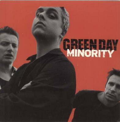 Green Day 7  Vinyl Single Record Minority USA AR013 ADELINE • 18.95£
