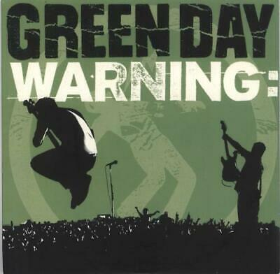 Green Day Warning - Yellow Vinyl 7  Vinyl Single Record USA AR014 • 41.70£