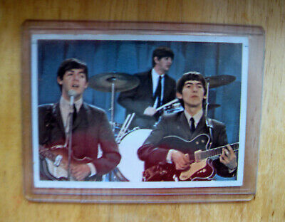 $9.99 • Buy Vintage Beatles Color Card 1964 Topps Excellent To Nr Mint #27