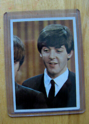 $15.99 • Buy Vintage Beatles Color  Card 1964 Topps Excellent To Nr Mint #41 PAUL MCCARTNEY