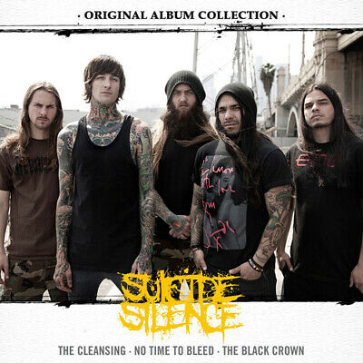 Suicide Silence : The Cleansing/No Time To Bleed/The Black Crown CD 3 Discs • 12.99£
