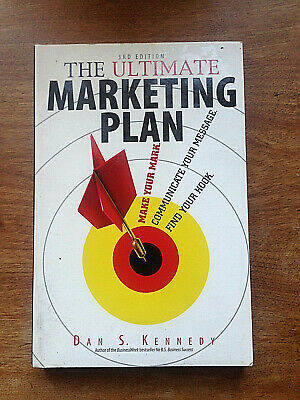 THE ULTIMATE MARKETING PLAN By Dan S. Kennedy - 3rd Edition • 4.99£
