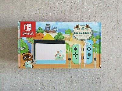 AU650 • Buy Nintendo Switch Animal Crossing New Horizons Special Edition   SAME DAY SHIPPING