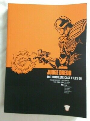 JUDGE DREDD : The Complete Case Files 06 : EX COPY • 7.99£