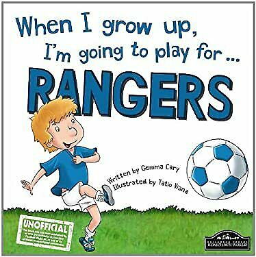 £8.75 • Buy When I Grow Up, I'm Going To Play For ... Rangers Hardcover
