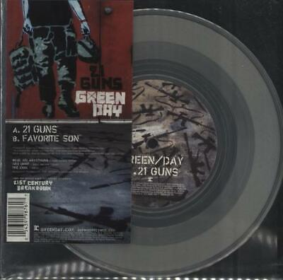 Green Day 21 Guns 7  Vinyl Single Record UK W817 WARNER 2009 • 41.70£