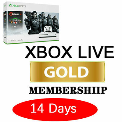 $2.49 • Buy Microsoft Xbox Live One/360 Gold Membership 14 Days Trial Instant 24/7 Delivery