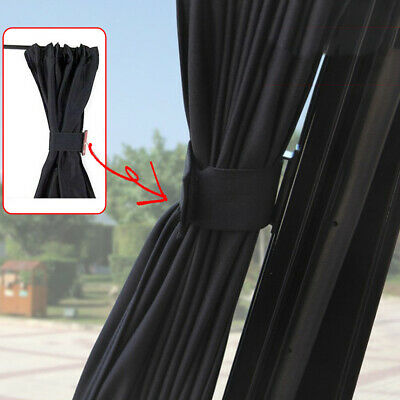 Car Sun Shade Side Window Curtain Auto Foldable UV Protection Accessories 2X50cm • 16.50£