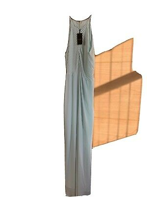 £40 • Buy BNWT TED BAKER Light Green Pleated Maxi Occasion Dress Ted  Size 14