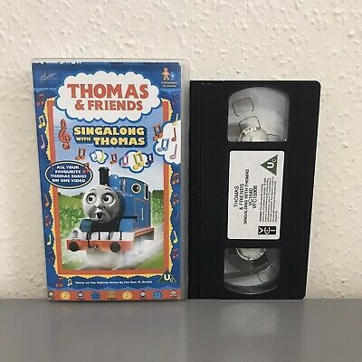 SING ALONG WITH Thomas Vhs • 29.95£