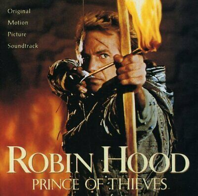 Robin Hood: Prince Of Thieves Soundtrack New Cd • 13.04£