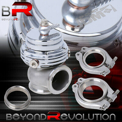 $51.99 • Buy 35mm 38mm Silver Top Turbocharger External Compact Waste Gate Manifold V-Band