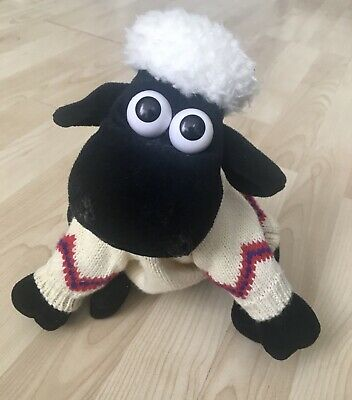"Shaun The Sheep Official Soft Plush Toy (10"")- Wallace And Gromit • 11.49£"