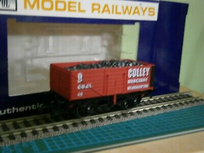 DAPOL HEREFORD MODEL CENTRE LIMITED EDITION COLLEY MOORHAMPTON COAL WAGON No. 9 • 1.99£