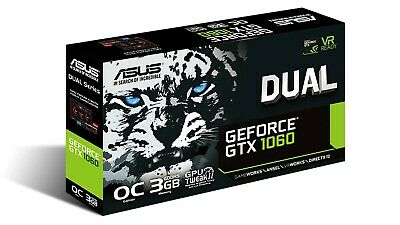 $ CDN210 • Buy ASUS NVIDIA GeForce GTX 1060 3GB GDDR5 Graphics Card (DUALGTX1060O3G)