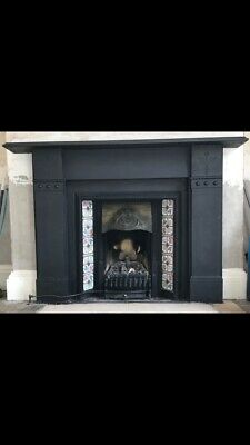 Victorian Fireplace Surround With Firemaster Coal Effect Gas Fire • 510£