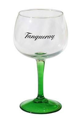 6 NEW TANQUERAY COPA GREEN STEMMED GIN GLASSES BY ARC, FRANCE Free Shipping UK • 39.86£