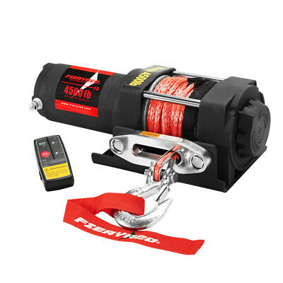 AU186.95 • Buy Wireless 2041kg 12V Electric Winch With Synthetic Rope 4WD 4x4 Recovery Gear