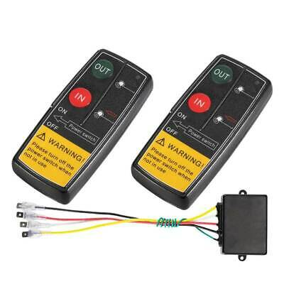 AU38.45 • Buy 2x Wireless Winch Remote Control Switch 4WD Accessories Towing Winches