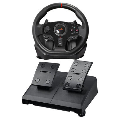 $158.95 • Buy Gaming Steering Wheel Pedal Set Racing Game Driving Simulator For Xbox One PC