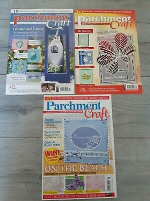 Joblot Of Parchment Craft Magazines Pre Owned  • 3.99£