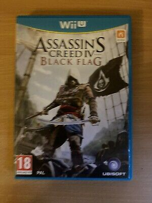 Assassin's Creed Black Flag Wii U, Used, Very Good Condition • 1.04£