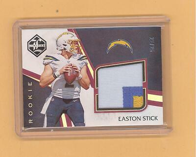 $0.99 • Buy Easton Stick 2019 Panini Limited  3 Color Patch Jersey Rookie Card Chargers