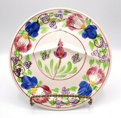 $14.95 • Buy Petrus Regout Maastricht Holland Gaudy Dutch Sectioned Restaurant Plate