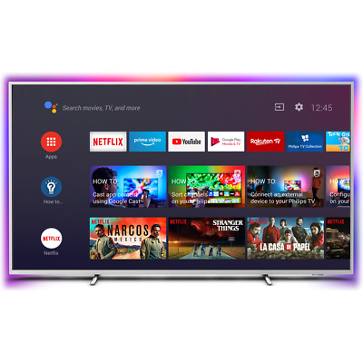 Philips TPVision 70PUS8535 70 Inch TV Smart 4K Ultra HD Ambilight LED Freeview • 849£