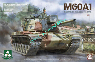 $45.49 • Buy Takom 2132 1/35 M60A1 U.S.ARMY MAIN BATTLE TANK NEW 2020 COME OUT