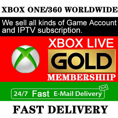 $2.49 • Buy Microsoft Xbox Live Gold Membership 24/7 Instant Delivery 14 Days TrialWorldwide