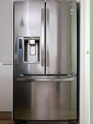 AU430.50 • Buy Lg French Door Fridge/freezer Plumbed Water & Ice Dispenser In Stainless