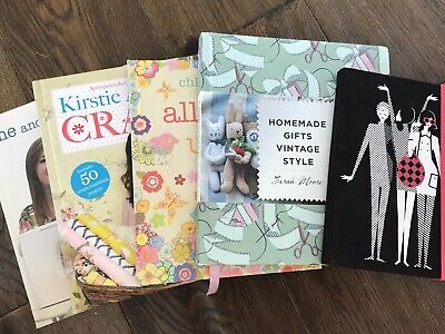 Bundle:Craft, Sewing, Machine, Embroidery, Notes, Vintage Gifts Books, Free Gift • 24.99£