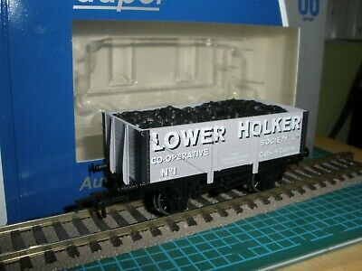 DAPOL LIMITED EDITION LOWER HOLKER COOP CARK IN CARTMEL 7PL COAL WAGON No.1 BNIB • 2.93£