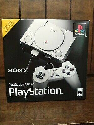 $49.99 • Buy New Sony PlayStation 1 Classic Mini Console Preloaded W/ 20  Games! New , Sealed