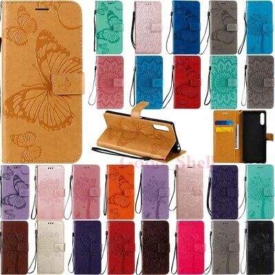 AU8.90 • Buy For Sony Xperia 5 L4 1 Ii 10 Ii L3 XZ3 Magnetic Flip Wallet Leather Case Cover