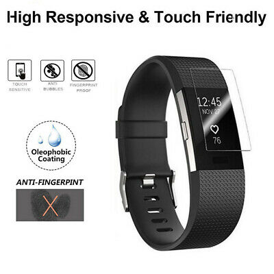 AU8.23 • Buy For Fitbit Charge 4 Hydrogel Film Explosion-proof Screen Protection Cover 2pcs