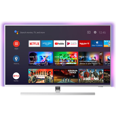 Philips TPVision 58PUS8535 58 Inch TV Smart 4K Ultra HD Ambilight LED Freeview • 629£
