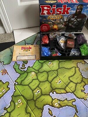 $49.99 • Buy 2015 Hasbro Gaming Premium Risk Europe Board Game Complete Mint!