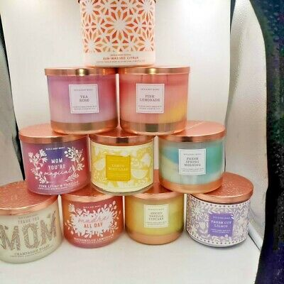 Bath And Body Works Spring 2021  3 Wick Candles • 27£