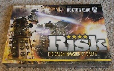$19.50 • Buy Doctor Who BBC Risk The Dalek Invasion Of Earth Board Game NEW SEALED
