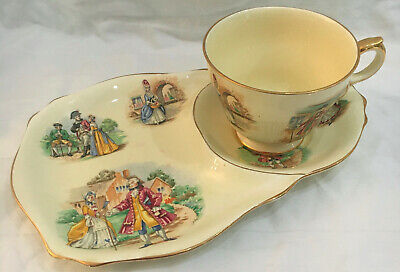 $ CDN99.98 • Buy Royal Winton Grimwades Gainsborough Can. Rd. 1954 Cup And Snack Plate