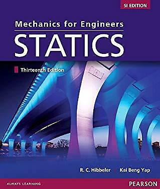 Mechanics For Engineers : Statics SI Study Pack Paperback Russell C. Hibbeler • 8.21£